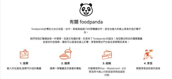 foodpanda 空腹熊貓美食外送
