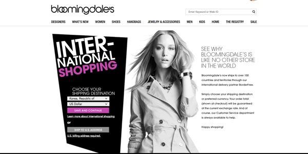 Bloomingdales 購物