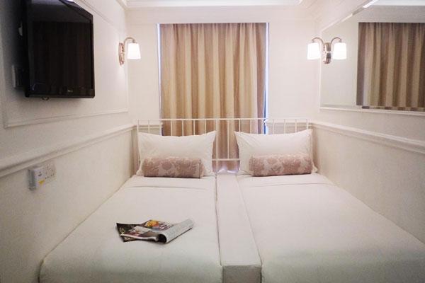 香港銅鑼灣迷你酒店