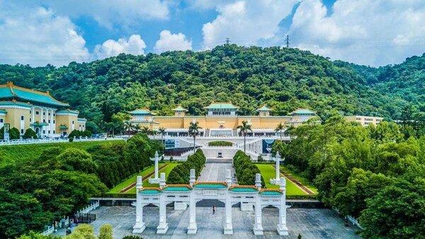 台北市景點-故宮博物館