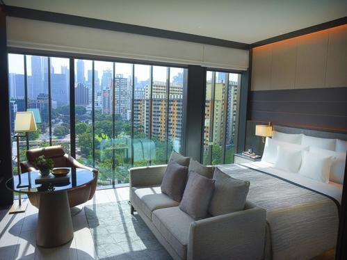 新加坡機加酒住宿推薦羅伯遜碼頭洲際酒店