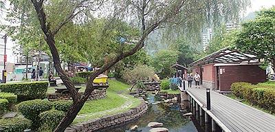 礁溪湯圍溝公園