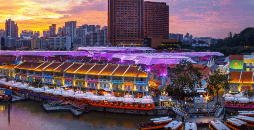 新加坡景點推薦克拉碼頭