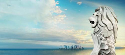 新加坡旅遊推薦魚尾獅公園