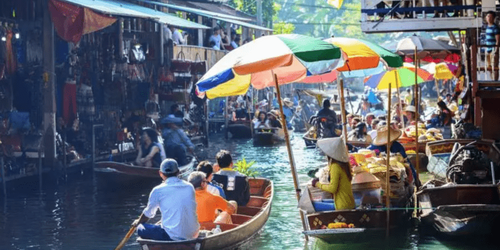 曼谷自由行推薦安帕瓦水上市場