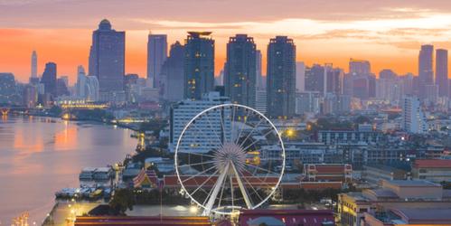 曼谷旅遊推薦河濱夜市