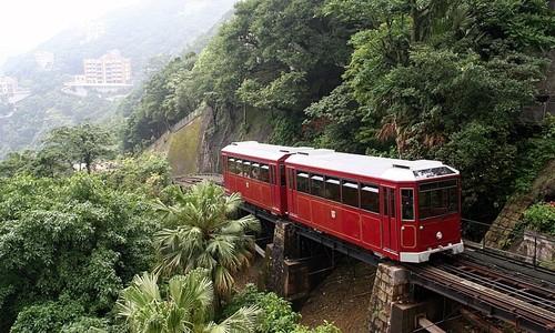 香港自由行景點山頂纜車