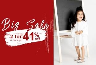 Suitangtang 隋棠服飾品牌童裝系列5%現金回饋