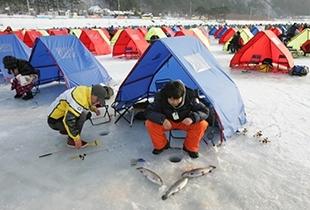 【韓國冬日慶典】平昌鱒魚冰釣慶典 + 雪上活動暢玩