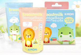 Mother-k 站立式抗菌母乳袋優惠