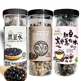 促進新陳代謝!黑豆水/六種健康茶