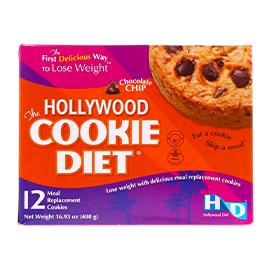 好萊塢減肥必備★巧克力代餐餅