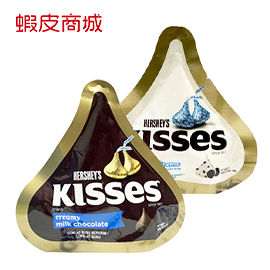 HERSHEY'S好時 巧酥白巧克力/ 牛奶巧克力 8個入