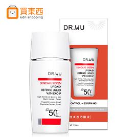 DR.WU 輕透水感防曬液SPF50/30ML