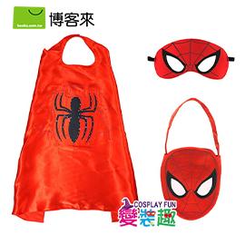 【變裝趣】韓國正版超級英雄系列_閃燈披風套裝組_蜘蛛人