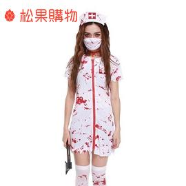 【血染醫生袍/血染護士裝】Halloween萬聖節恐怖血腥護士醫生服