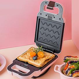濤聲三明治機早餐機家用輕食機華夫餅麵包機多功能加熱吐司壓烤機