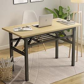 長條可折疊小桌子擺攤簡易會議桌長方形家用租房辦公長寫字培訓桌