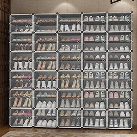 簡易鞋櫃家用防塵收納神器鞋架子多層組裝經濟型門口放塑料大容量