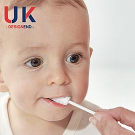 嬰兒口腔清潔器新生兒乳牙軟毛牙刷幼兒寶寶0-3歲洗舌苔紗布神器