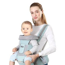 嬰兒背帶腰凳前抱式多功能輕便寶寶兒童坐凳四季抱娃神器前後兩用