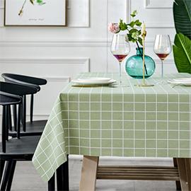 北歐餐桌布防水防油防燙免洗PVC網紅桌布書桌ins學生茶几桌墊布藝
