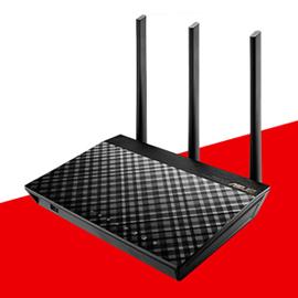 ASUS華碩 RT-AC66U+ AC1750 Ai Mesh 雙頻WiFi無線Gigabit 路由器(分享器)