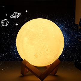 3D月球燈 LED小夜燈/氛圍燈