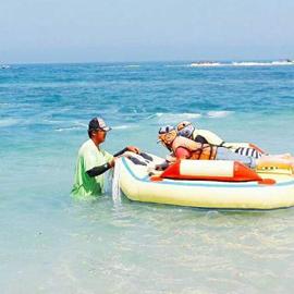 澎湖吉貝嶼 船票+機車+水上活動