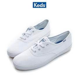 Keds經典帆布小白鞋